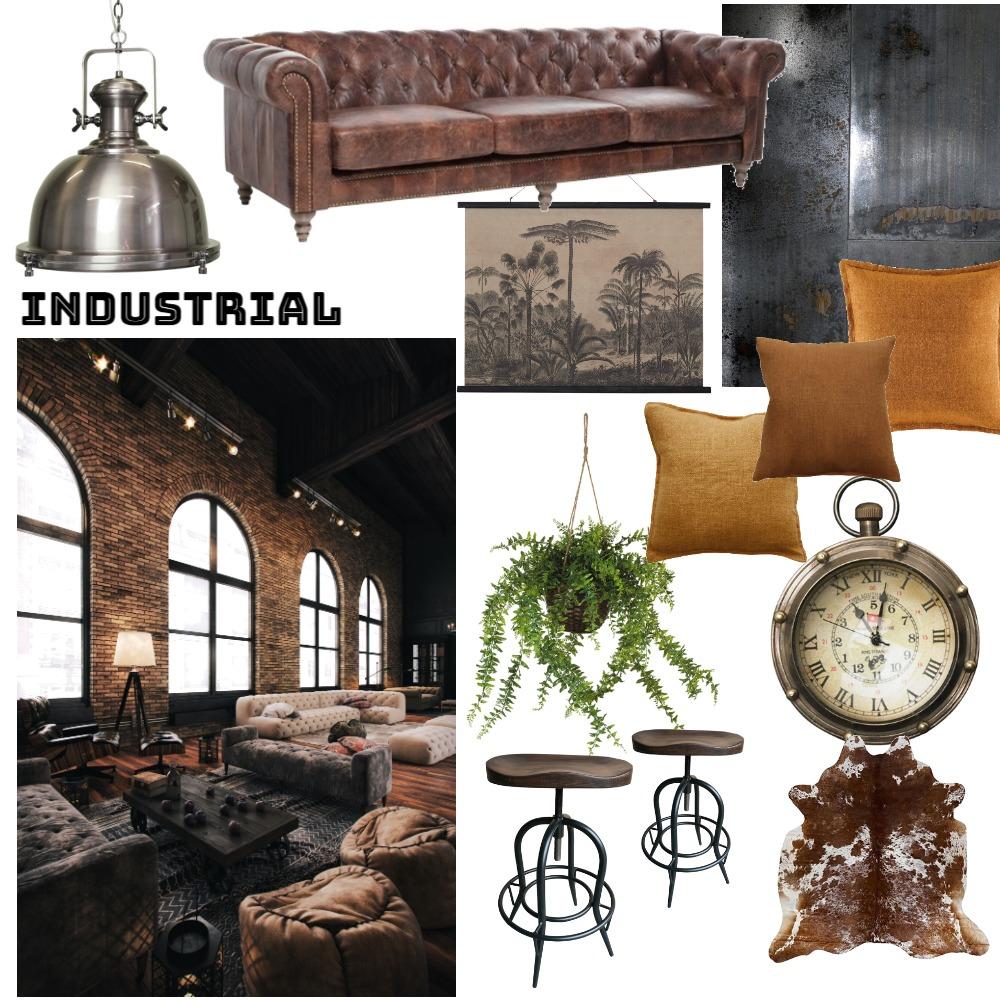 Industrial Interior Design Mood Board by NicoleGhirardelli on Style Sourcebook