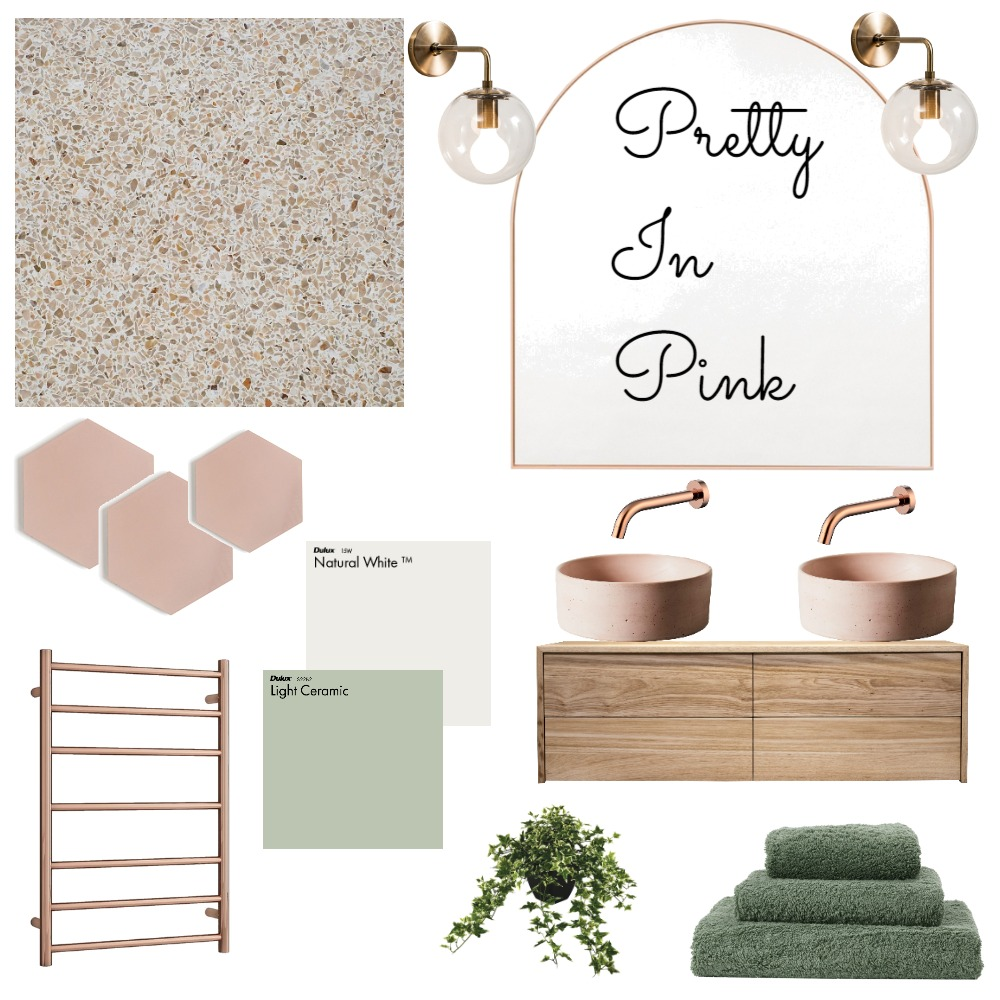 Pretty In Pink Interior Design Mood Board by sianaesz78 on Style Sourcebook