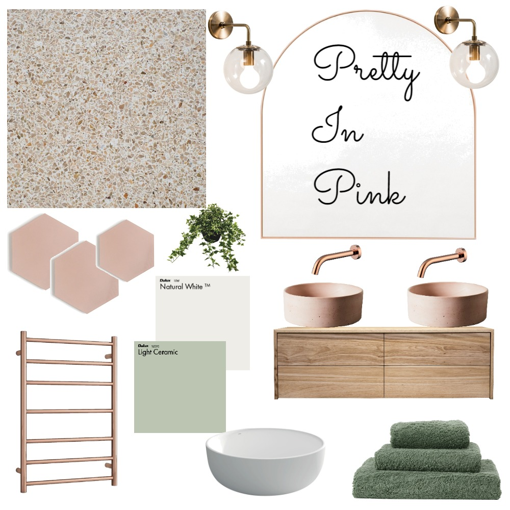 Pretty In Pink 2 Interior Design Mood Board by sianaesz78 on Style Sourcebook