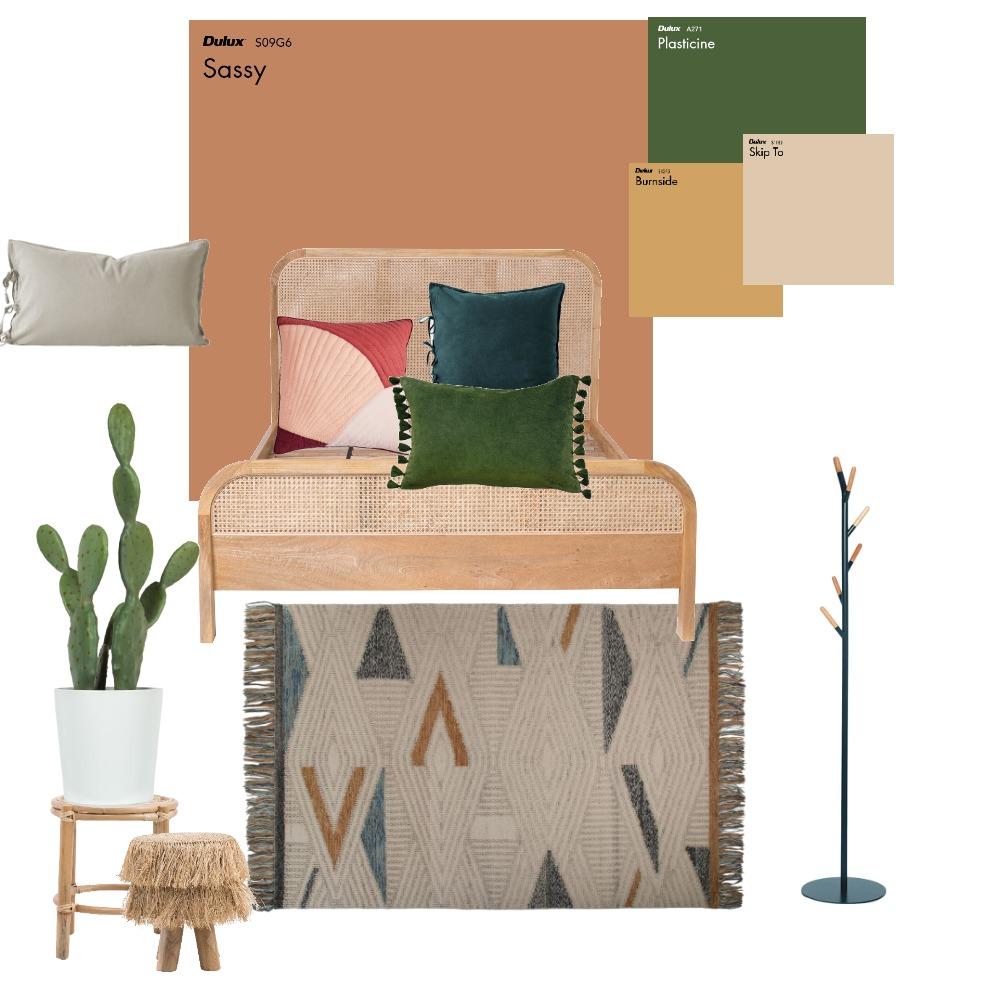 bedroom exercise sculla Interior Design Mood Board by ofribl on Style Sourcebook