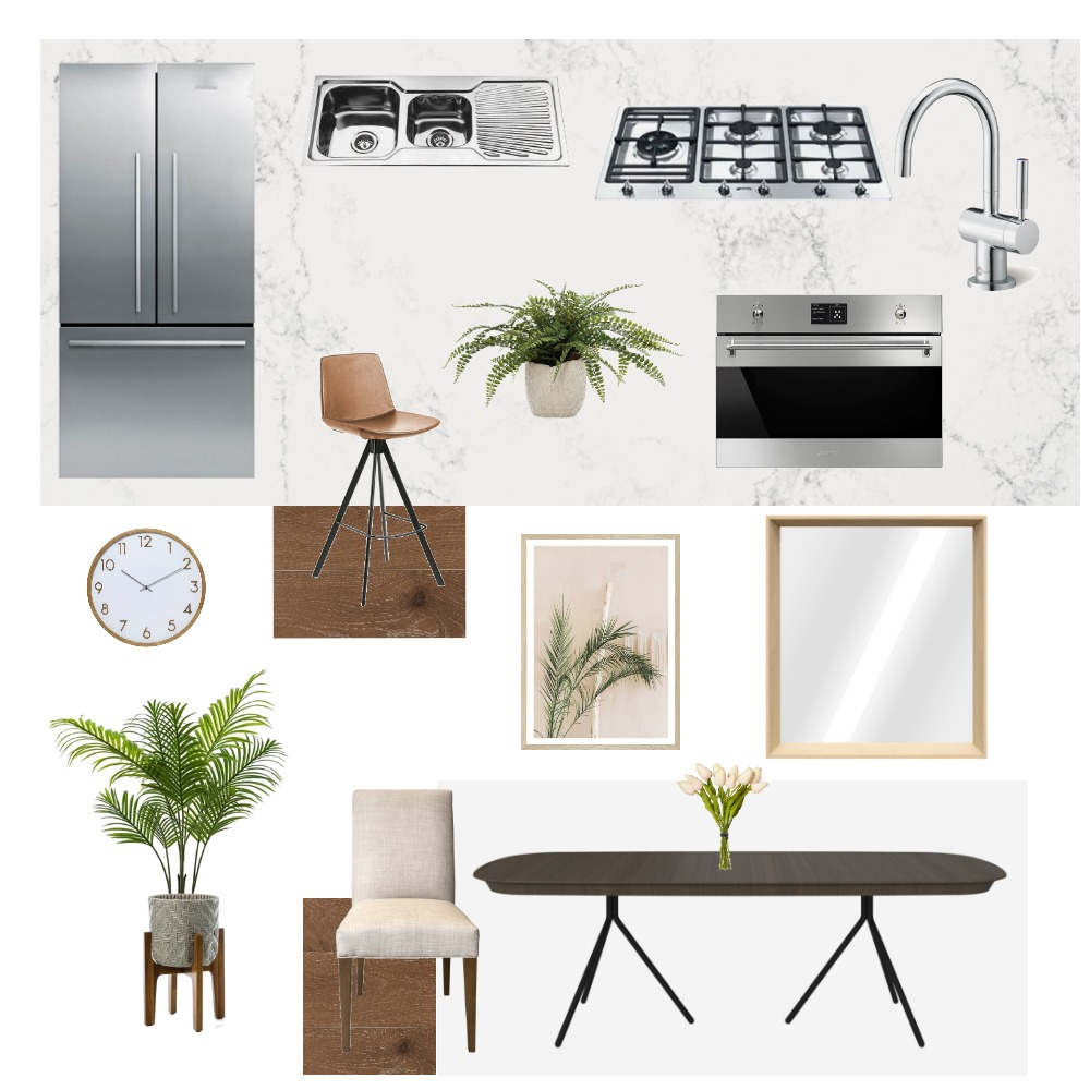 Kitchen and Dining Interior Design Mood Board by relee96 on Style Sourcebook