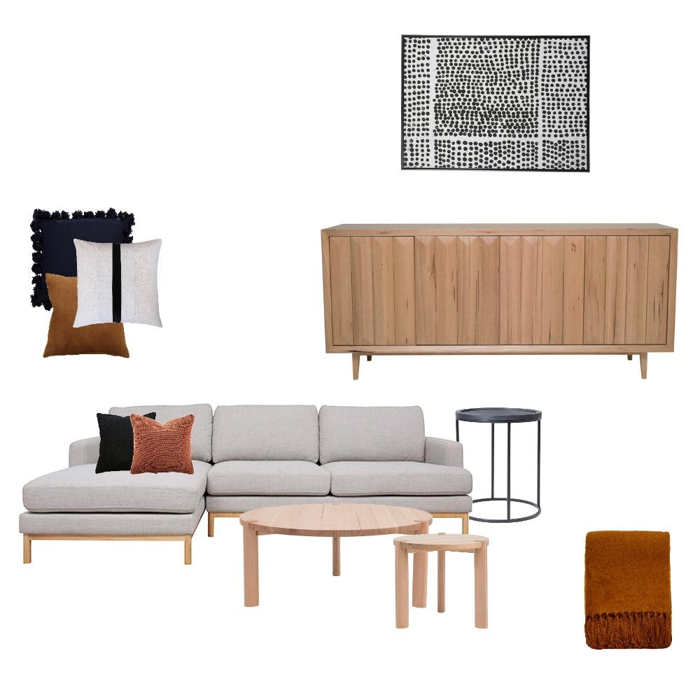 Living Room Interior Design Mood Board by Jaimee Voigt on Style Sourcebook
