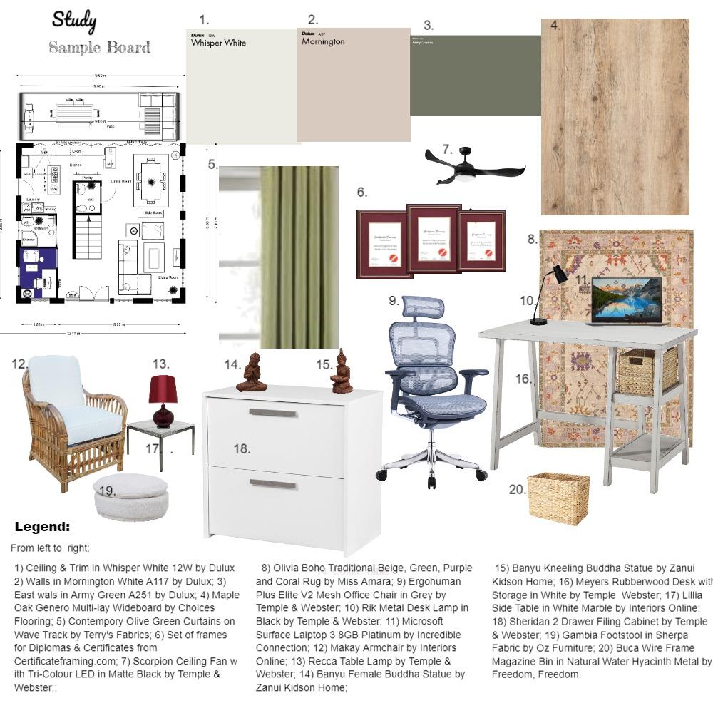 Module 9 Interior Design Mood Board by Kathy Crichton on Style Sourcebook