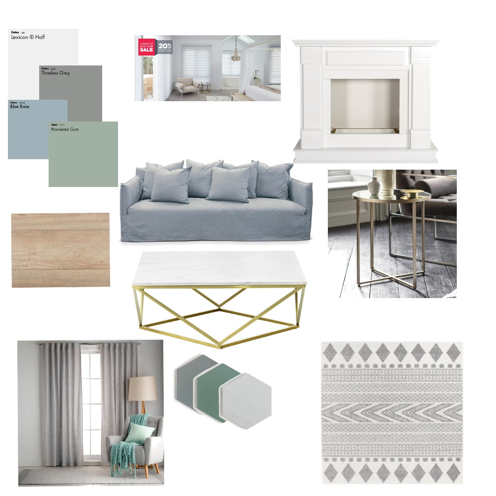 Living Room Interior Design Mood Board by KeyWilson on Style Sourcebook