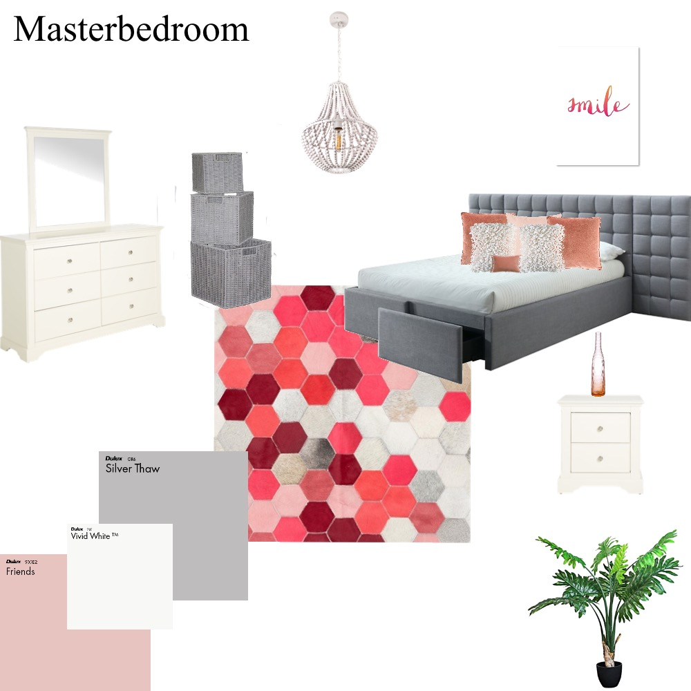 Masterbedroom Interior Design Mood Board by coziinteriors_staging on Style Sourcebook