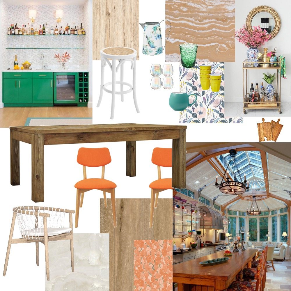 dining Interior Design Mood Board by laurenlongaphy on Style Sourcebook