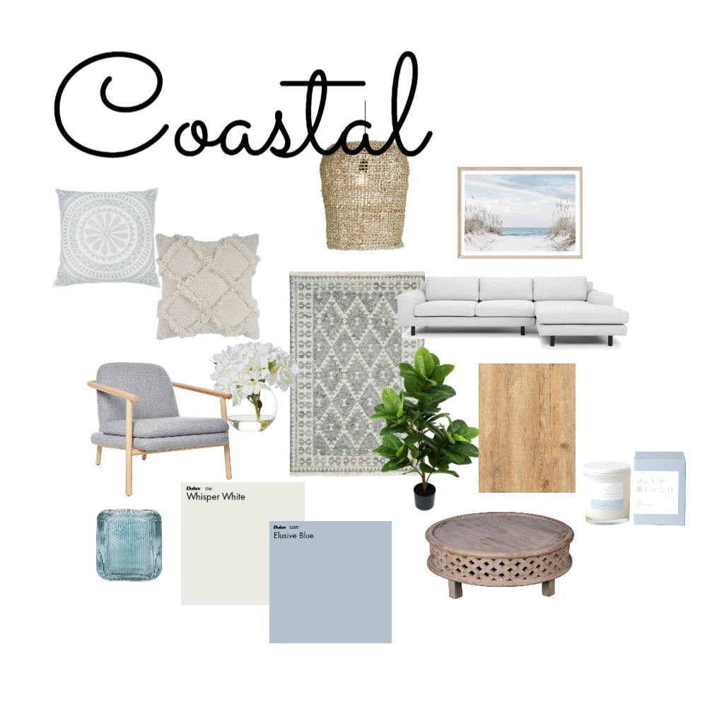 coastal Interior Design Mood Board by kimlmf89 on Style Sourcebook
