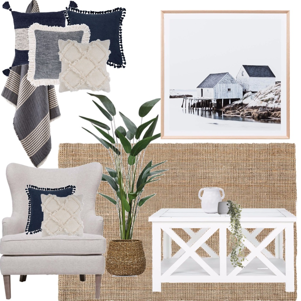 Paulette Casual Living Interior Design Mood Board by House2Home on Style Sourcebook