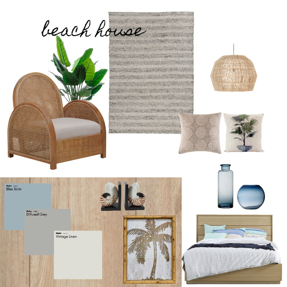 Assignment 3--Beach House Coastal Interior Design Mood Board by rmatheson on Style Sourcebook