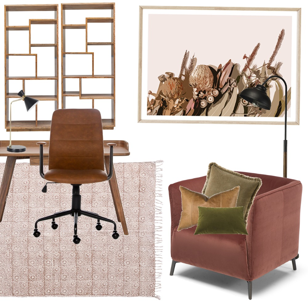 M9 Study 1 Interior Design Mood Board by Sarah_a on Style Sourcebook