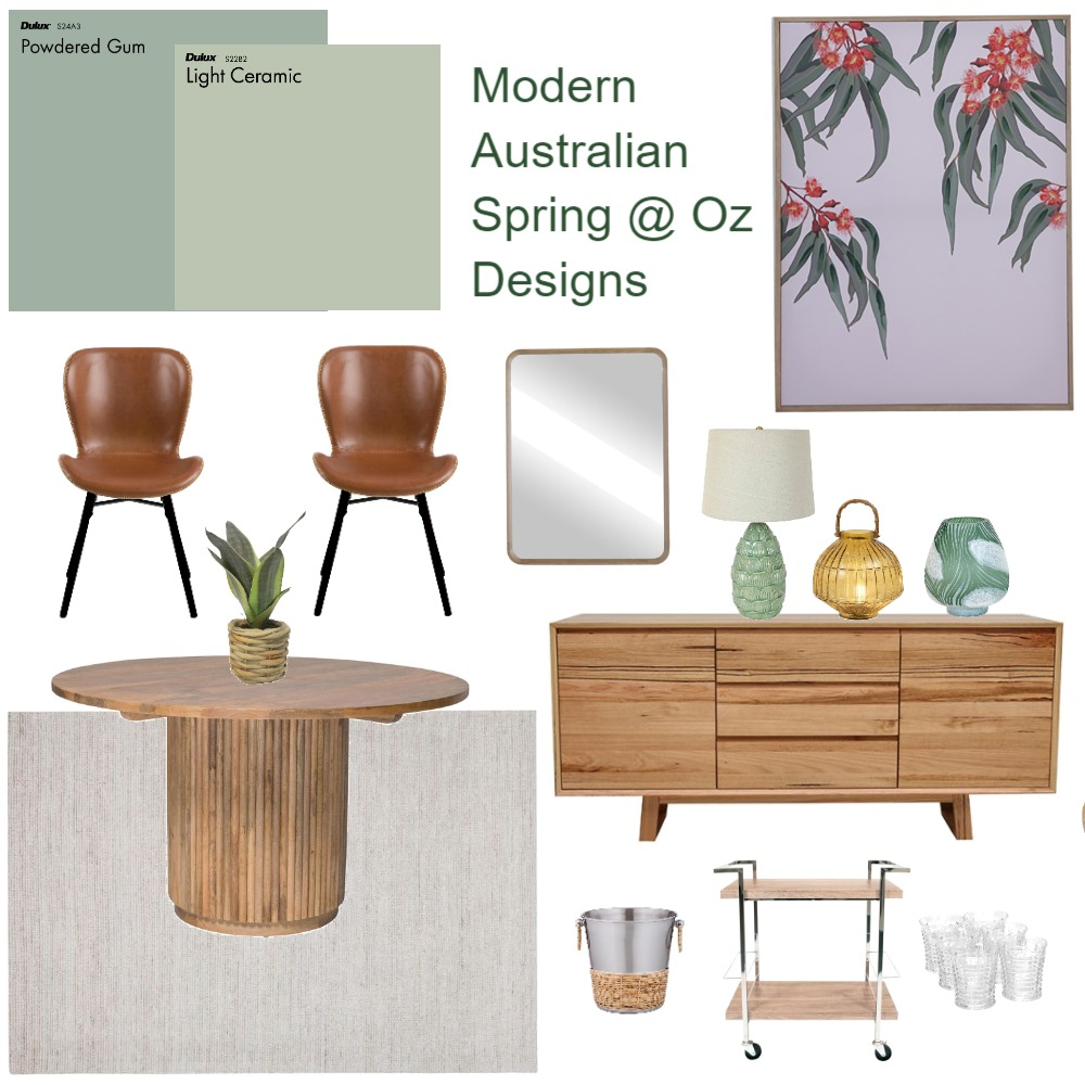 Oz Design Dining Interior Design Mood Board by interiorology on Style Sourcebook