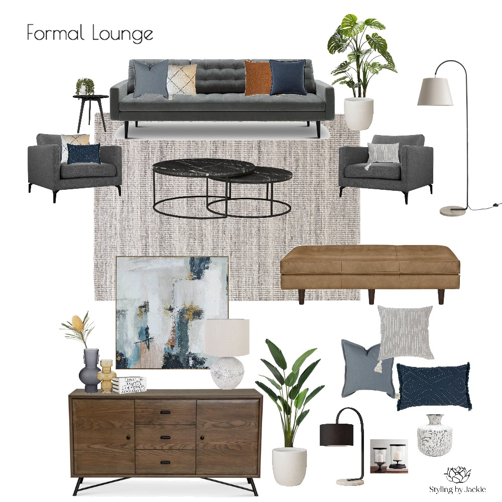 King Rd Project Interior Design Mood Board by Styling by Jackie on Style Sourcebook