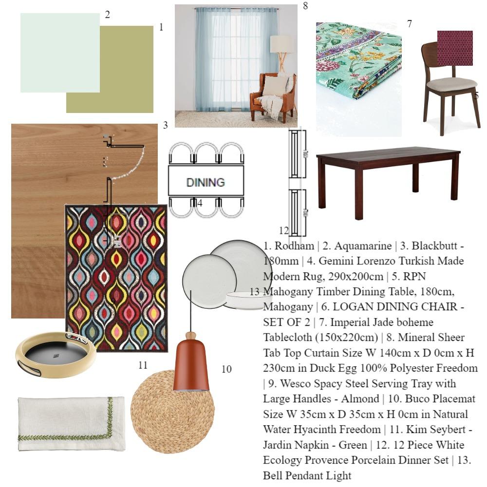 Dining Room Interior Design Mood Board by satishbajirao on Style Sourcebook