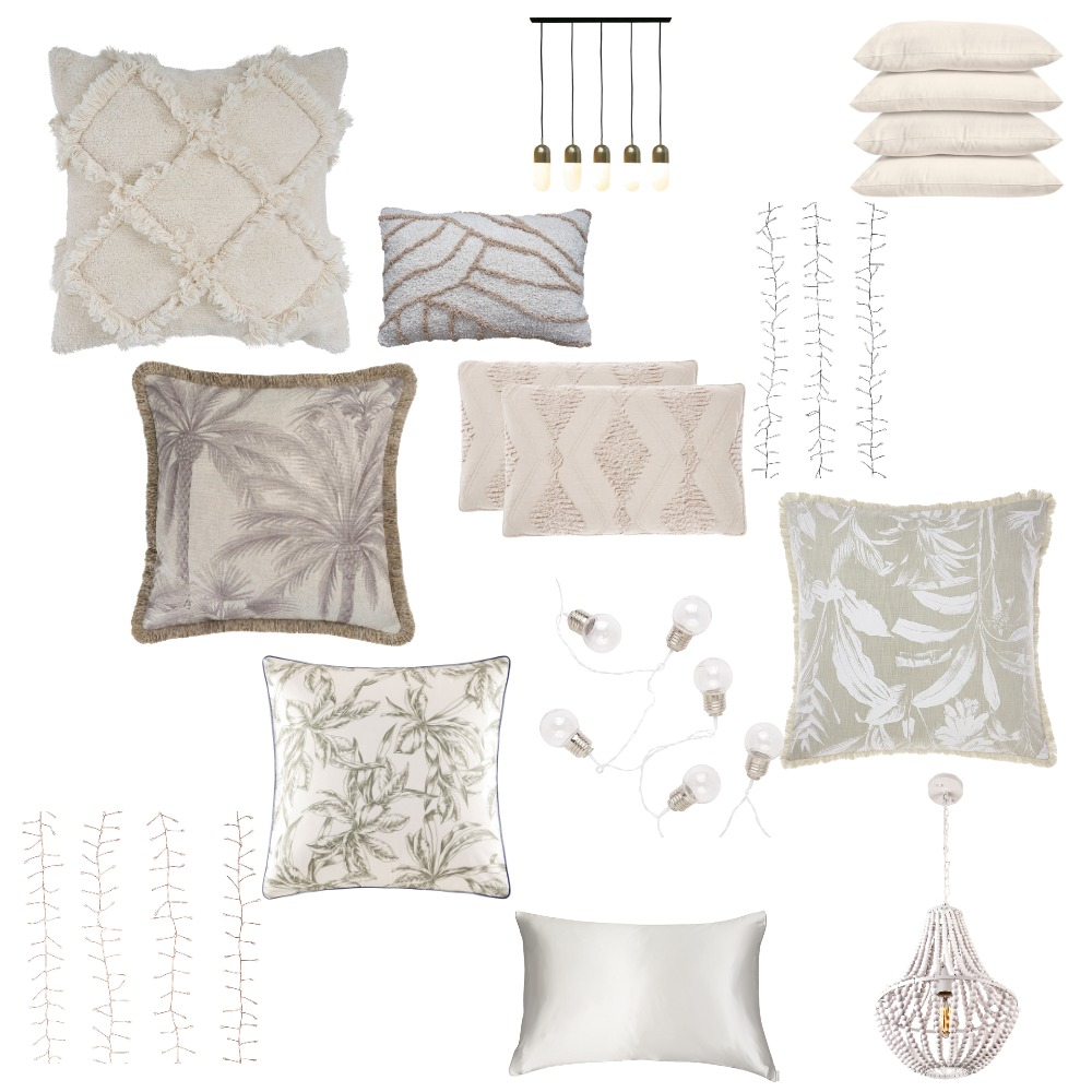 Pillows and Lights Interior Design Mood Board by isabellaSee on Style Sourcebook