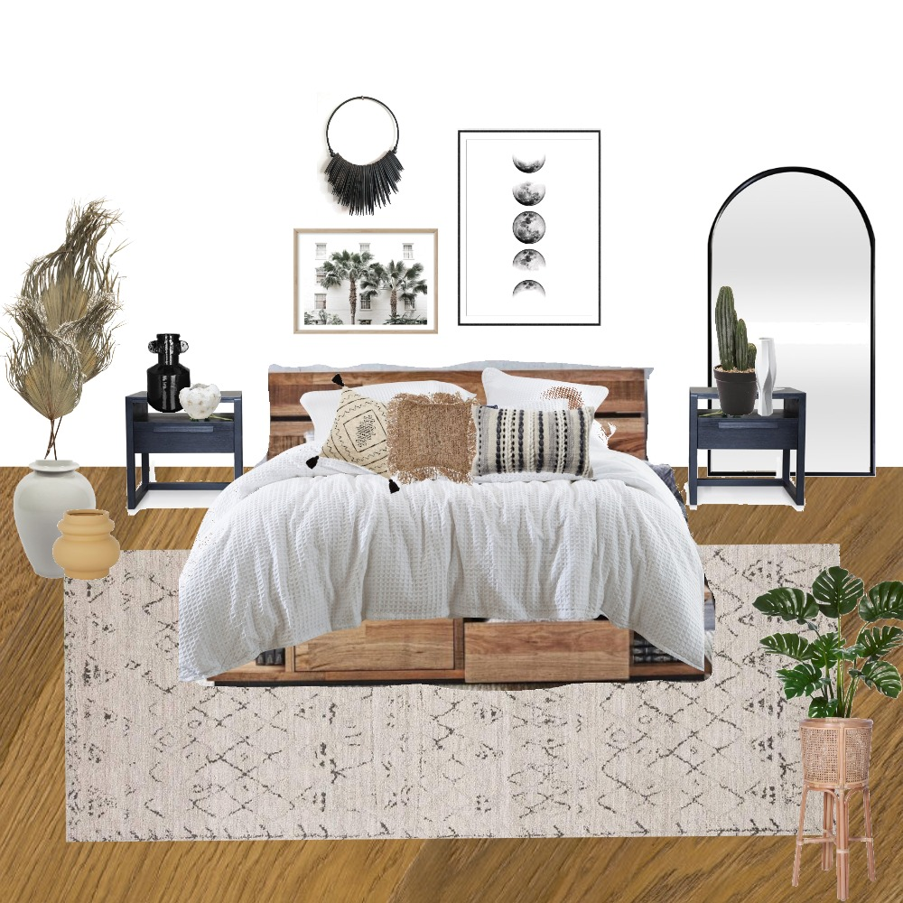 main bedroom Interior Design Mood Board by hannahallenstyle on Style Sourcebook