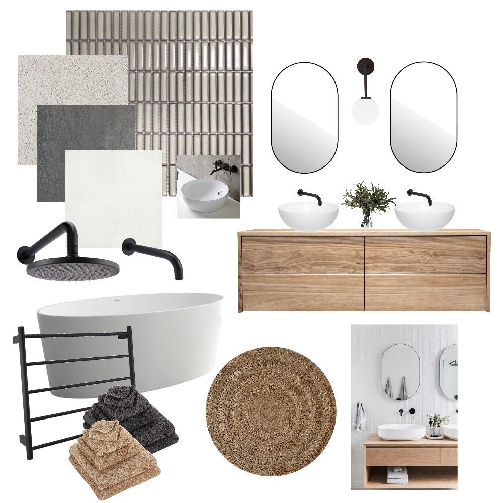 modern bath Interior Design Mood Board by Raj on Style Sourcebook