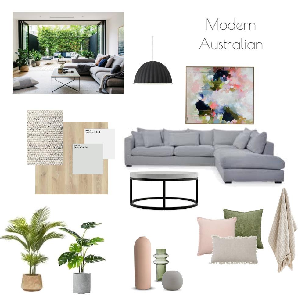 Modern Australian lounge room Interior Design Mood Board by Jemma Herberte on Style Sourcebook