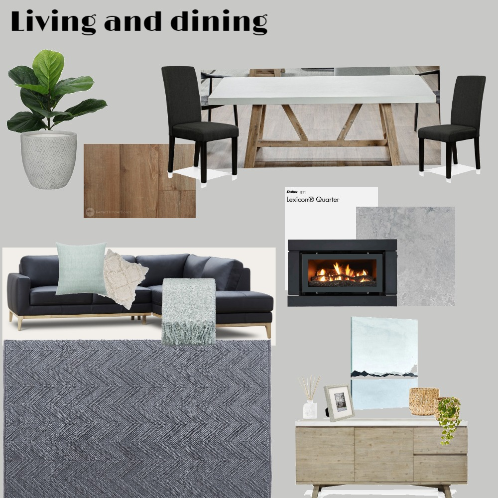 Living and dining Interior Design Mood Board by Bargello_Arden_Homes on Style Sourcebook