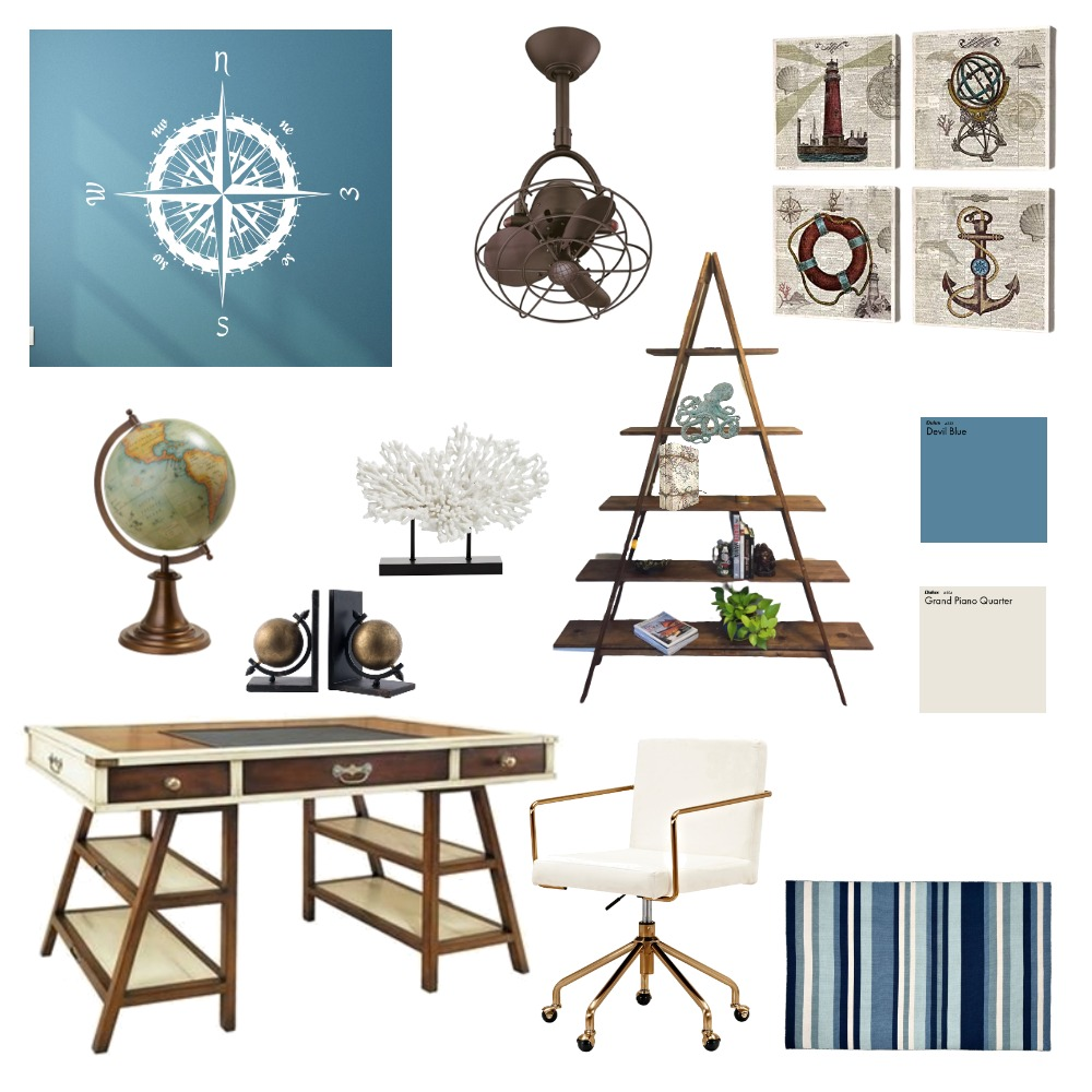 Home Office Interior Design Mood Board by Oak Hill Interiors on Style Sourcebook