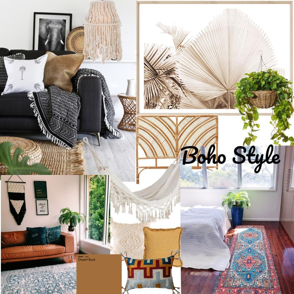 Boho style Interior Design Mood Board by NikkiM on Style Sourcebook