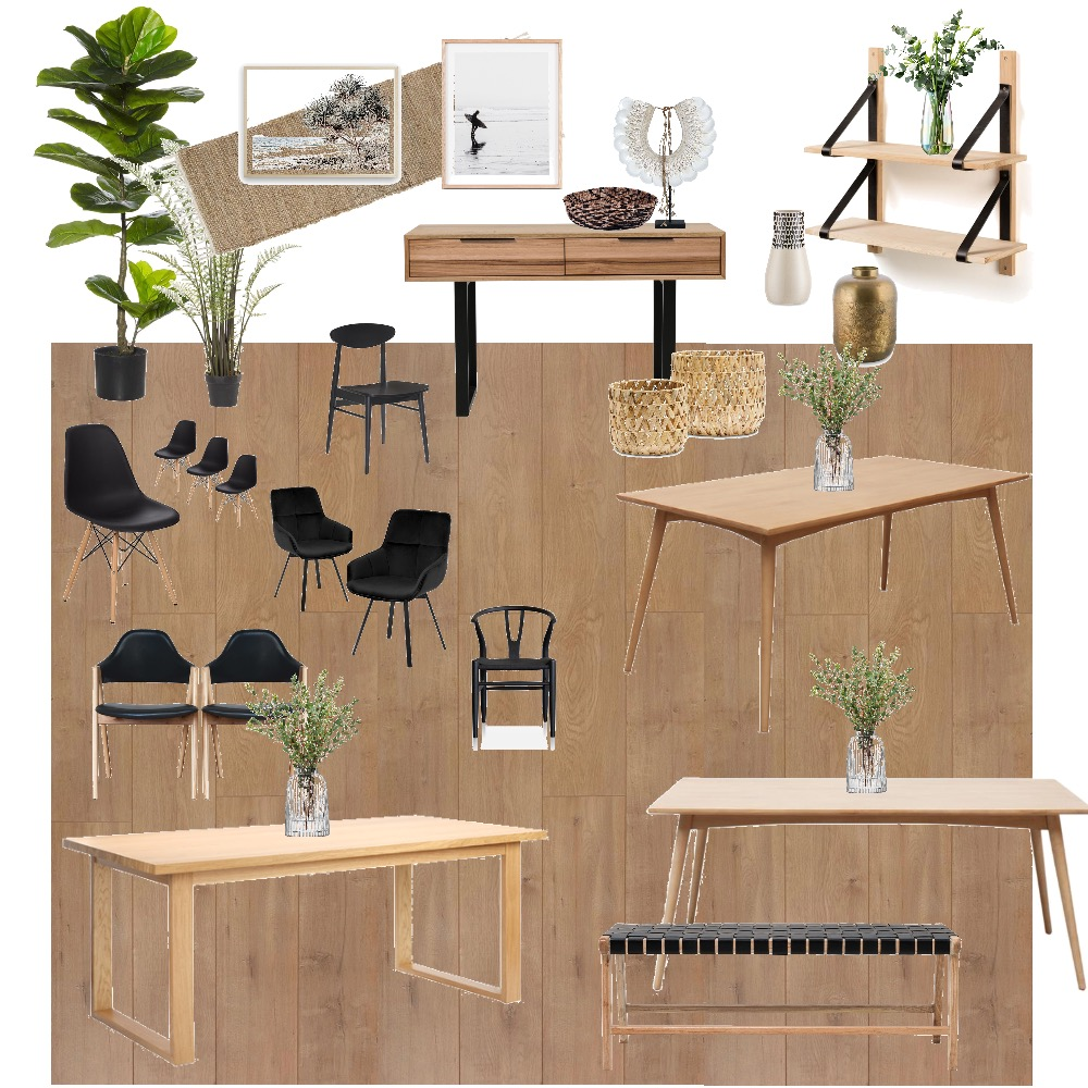 Dining Room 1 Interior Design Mood Board by DesD on Style Sourcebook