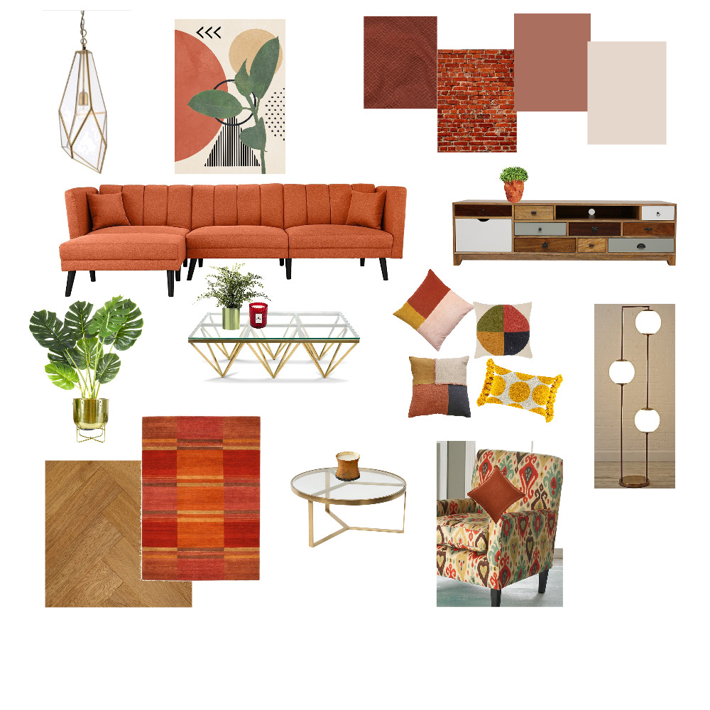 Living Space Interior Design Mood Board by MM Creations on Style Sourcebook