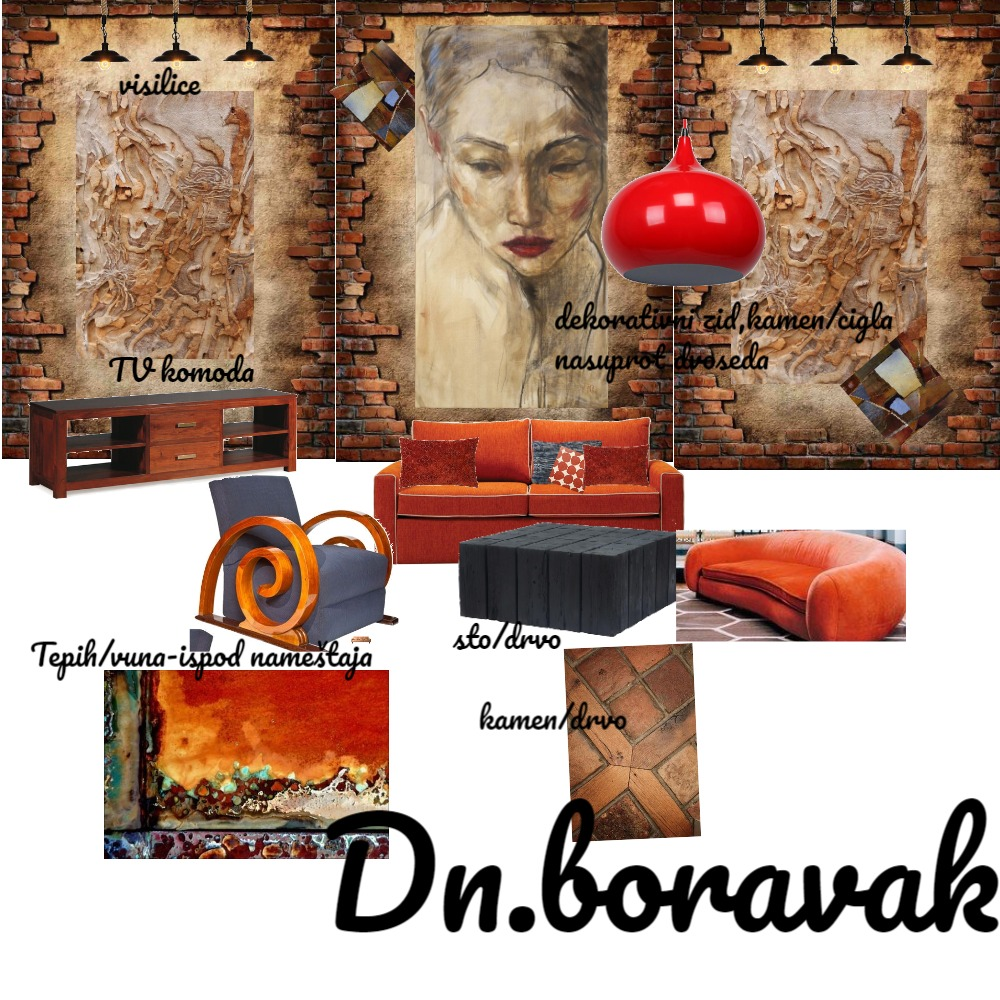 Dn.boravak  text Final Interior Design Mood Board by Gordana on Style Sourcebook