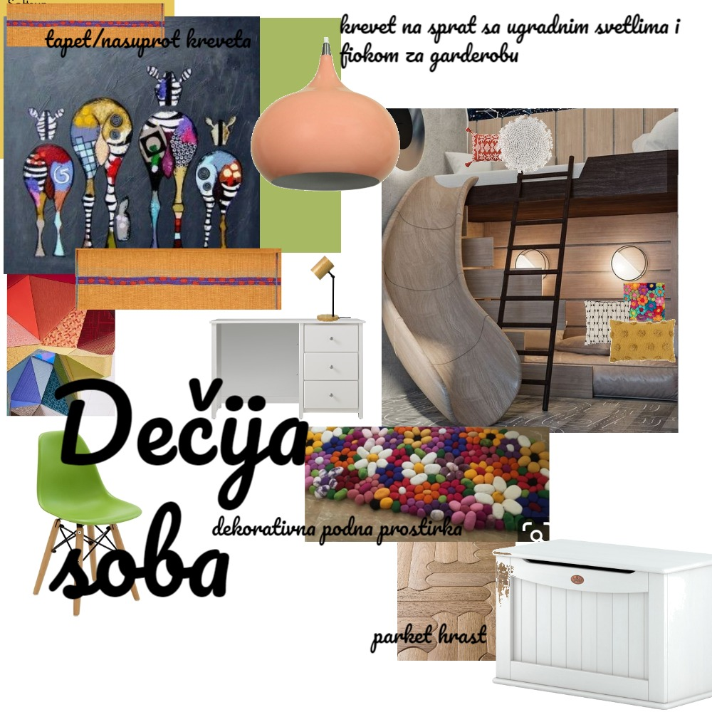 Dečija soba text final Interior Design Mood Board by Gordana on Style Sourcebook
