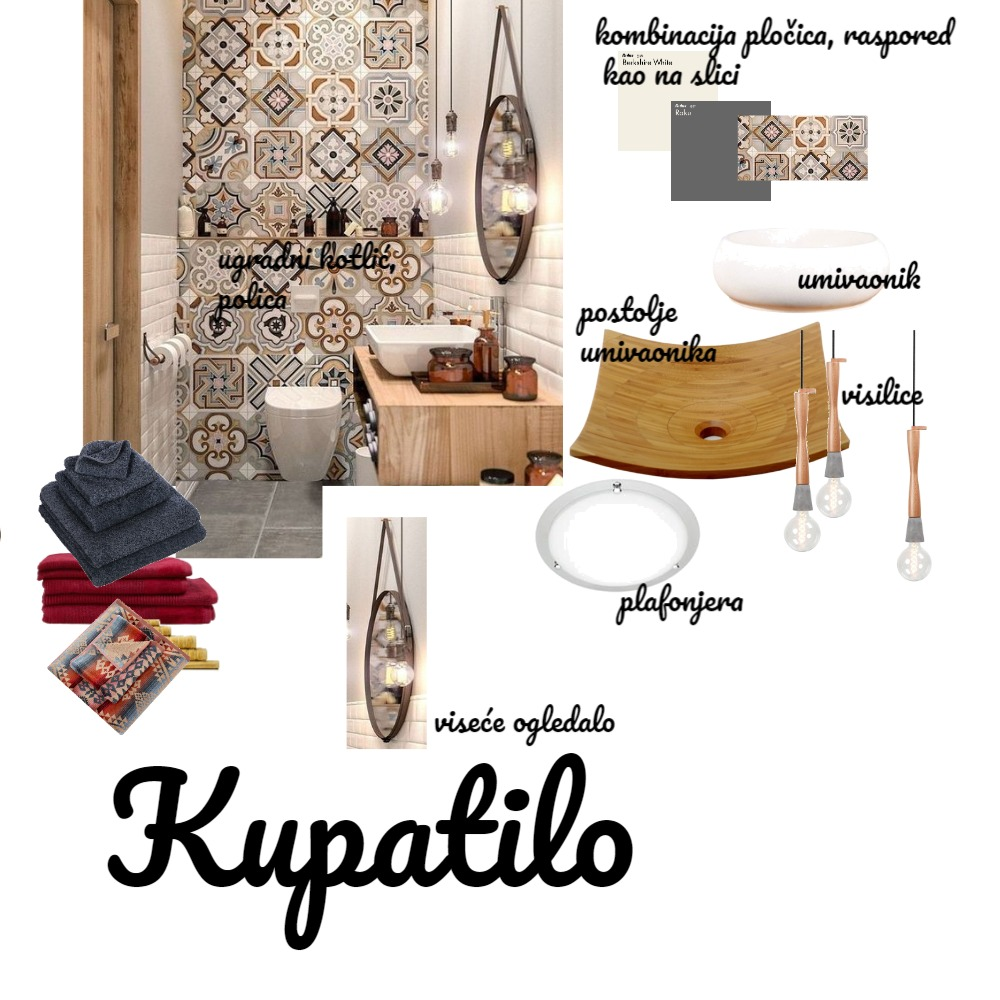 Kupatilo text final Interior Design Mood Board by Gordana on Style Sourcebook