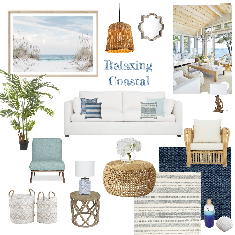 Coastal Interior Design Mood Board by adrianamartins on Style Sourcebook
