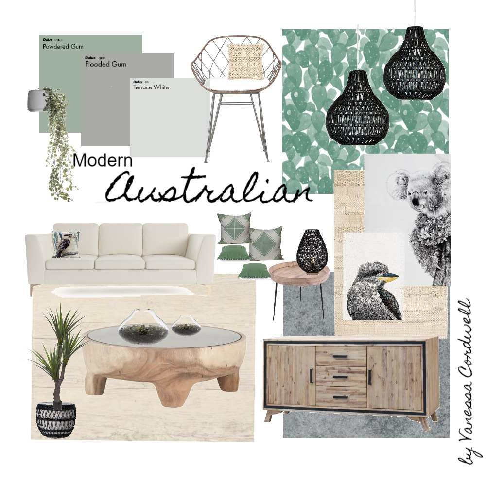 Modern Australia Interior Design Mood Board by Vanessa Cordwell on Style Sourcebook