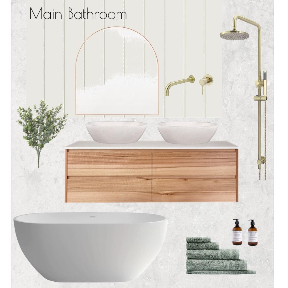 Main Bathroom Interior Design Mood Board by JacBunn on Style Sourcebook