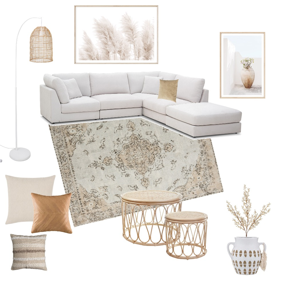 Lounge Room Interior Design Mood Board by Ellie Giles on Style Sourcebook