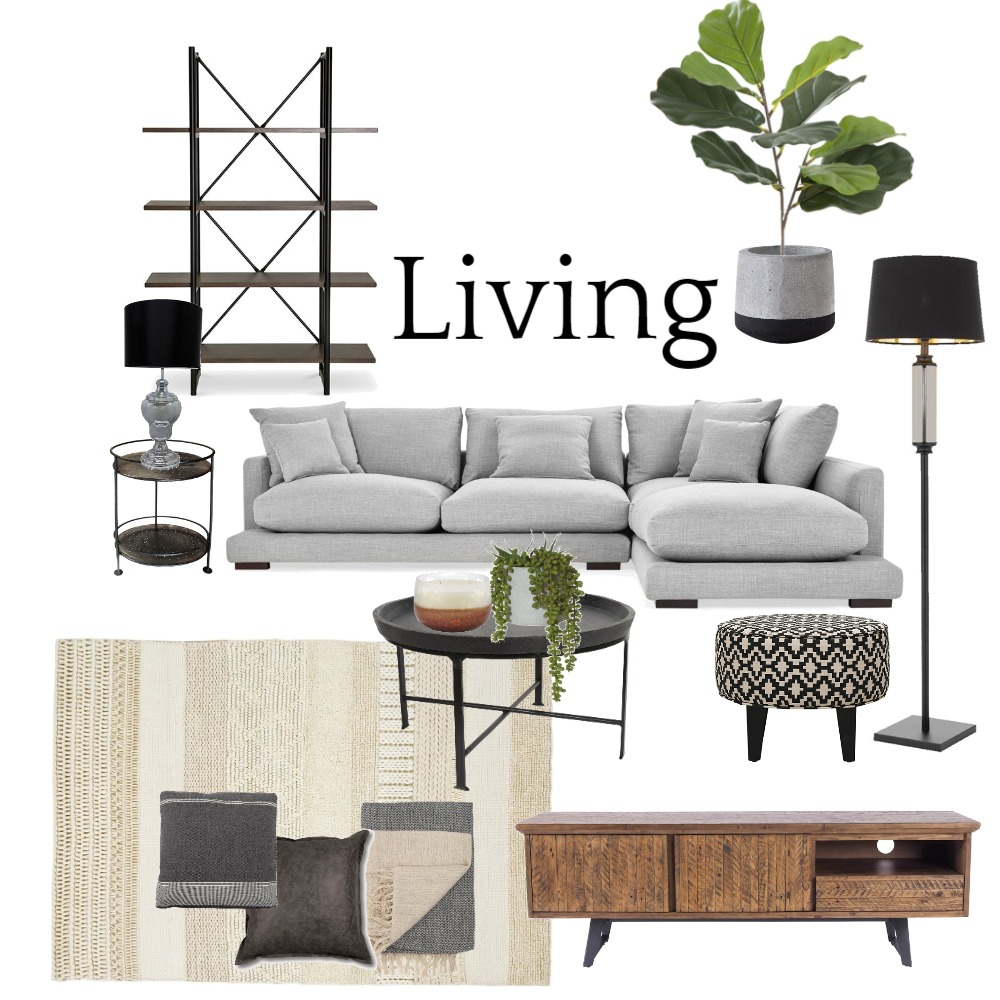 Living set 2 Interior Design Mood Board by DesignbyFussy on Style Sourcebook
