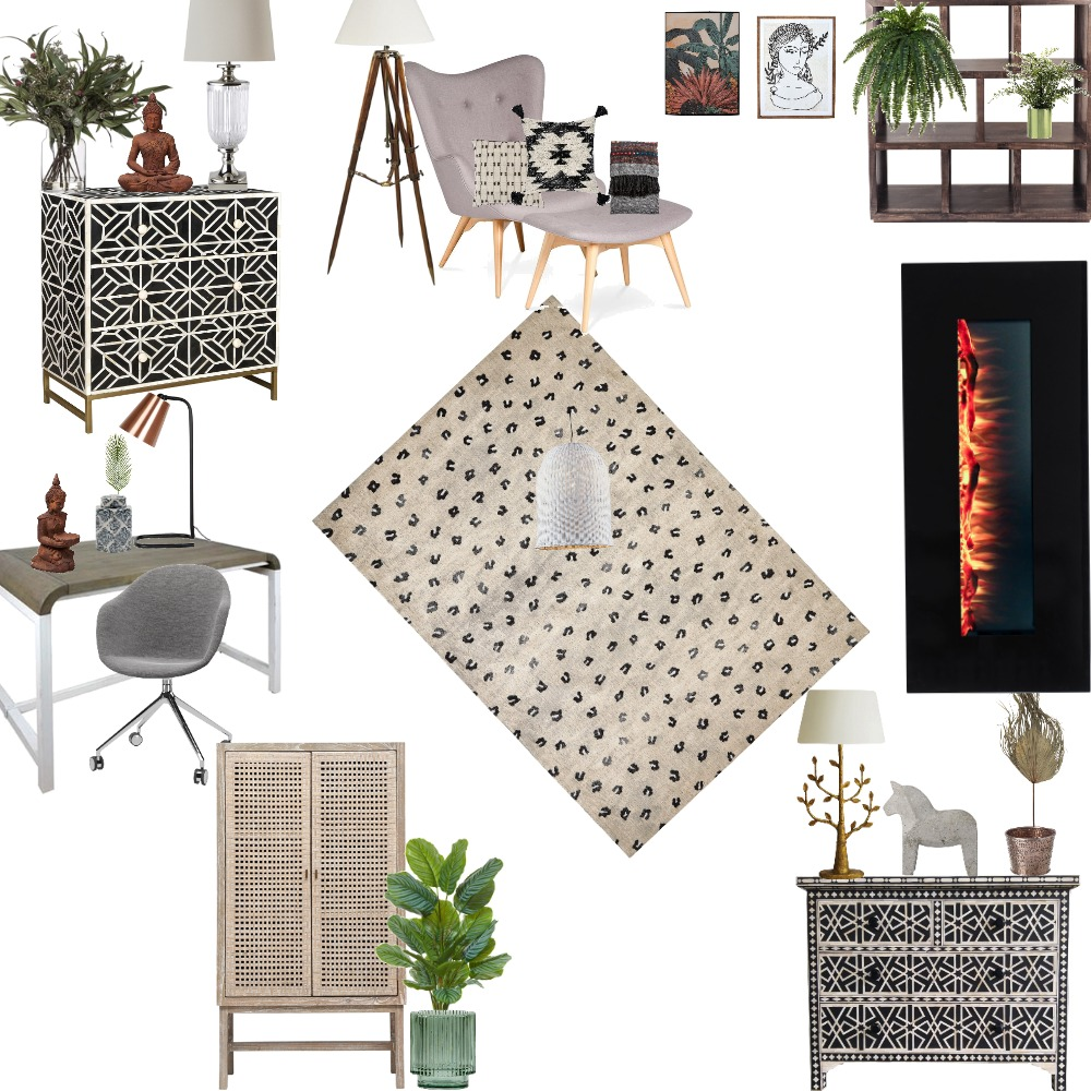 DC101 -AS1 Reading room Study Mood C Interior Design Mood Board by Silvana on Style Sourcebook