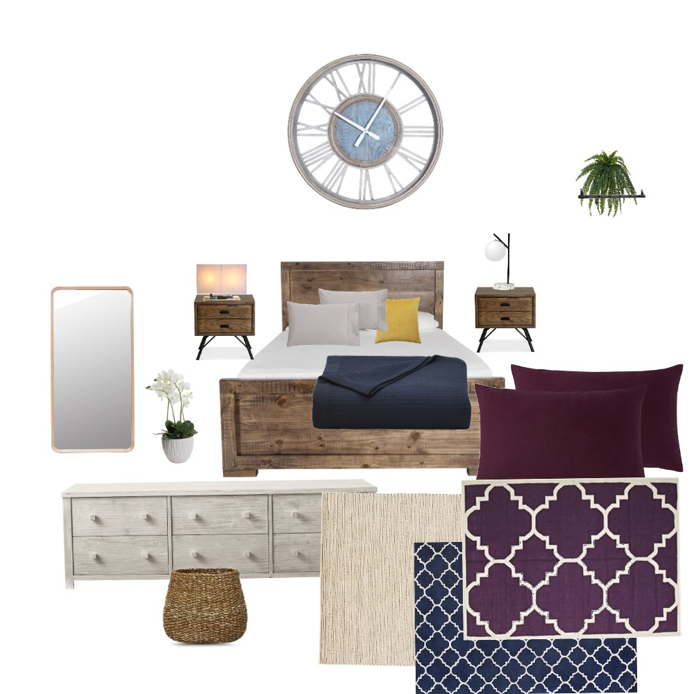 First Bedroom design Interior Design Mood Board by Joe_Umetnica on Style Sourcebook