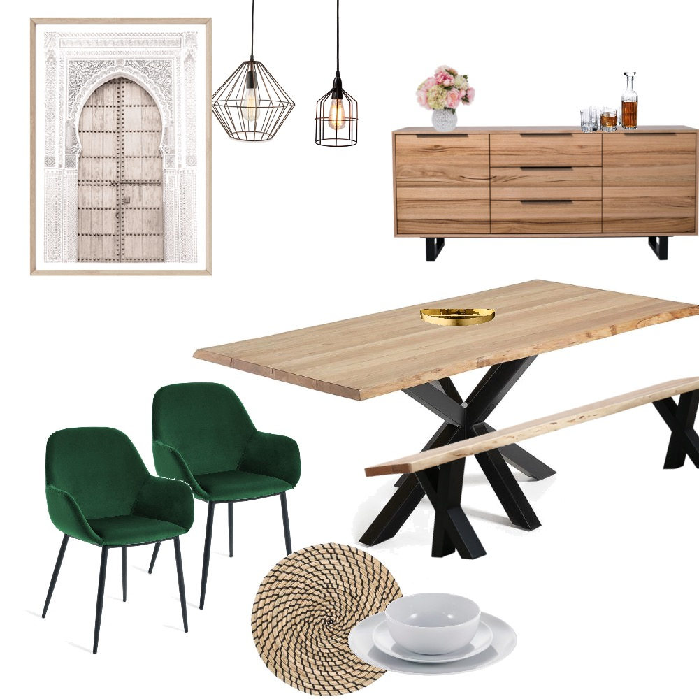 Dining Room Interior Design Mood Board by ElyseGP on Style Sourcebook