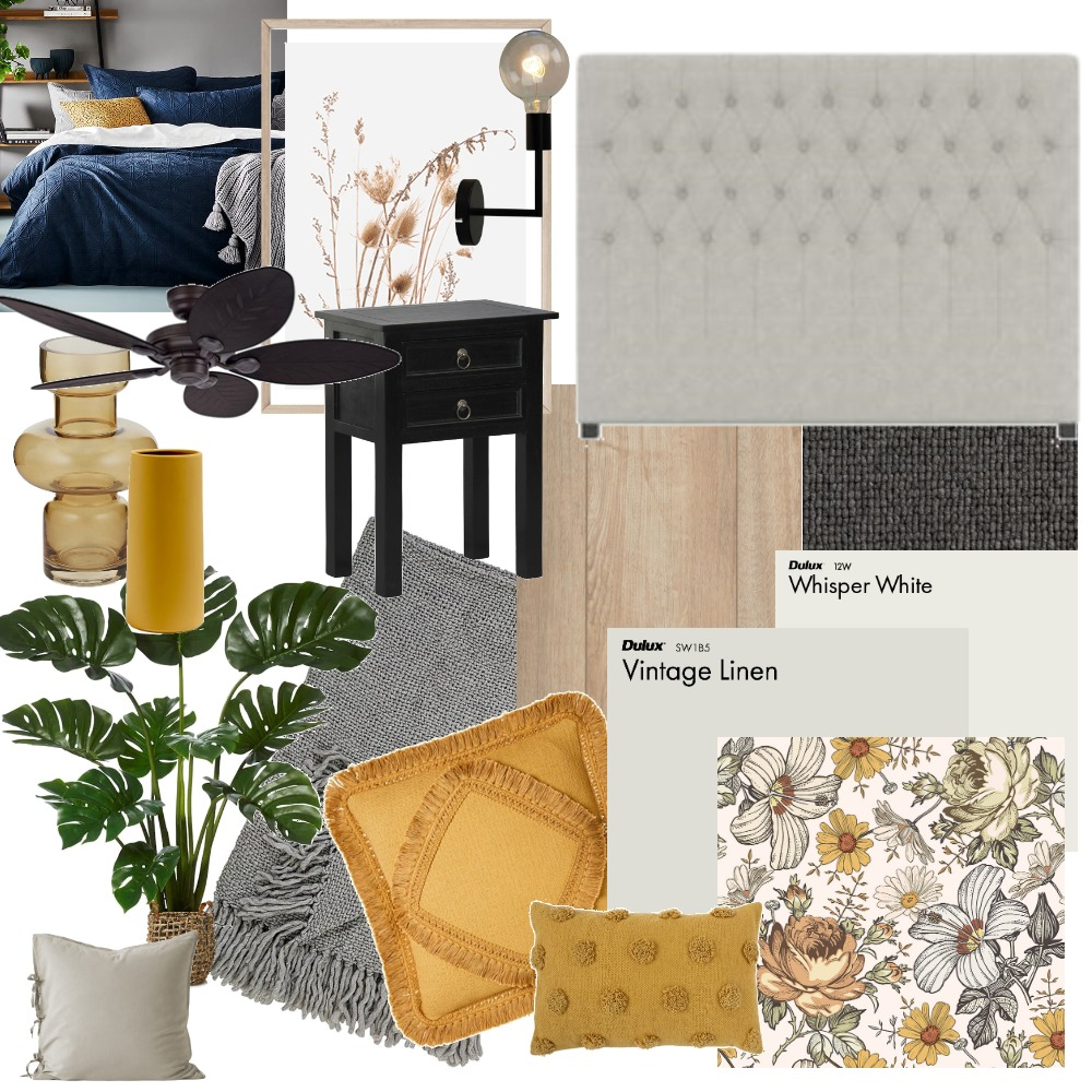 Main Bedroom Interior Design Mood Board by ClemLoz on Style Sourcebook