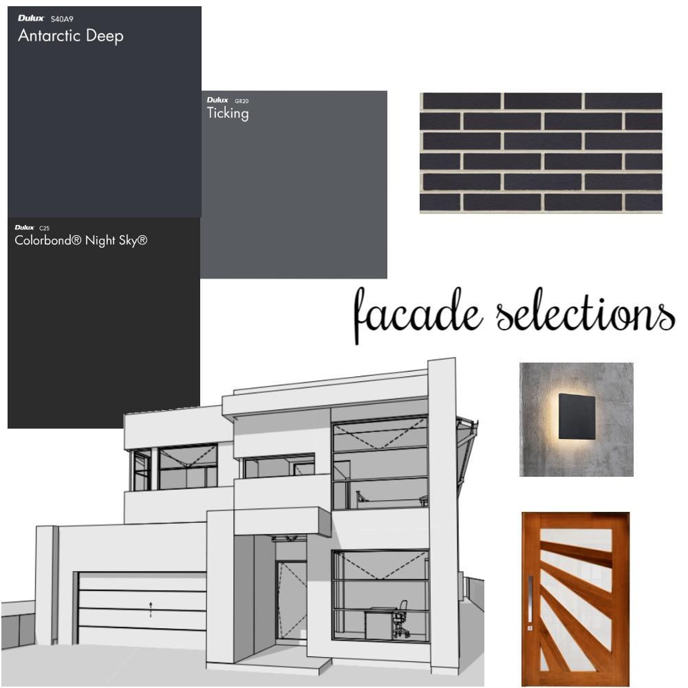 Facade Interior Design Mood Board by Smerakis on Style Sourcebook