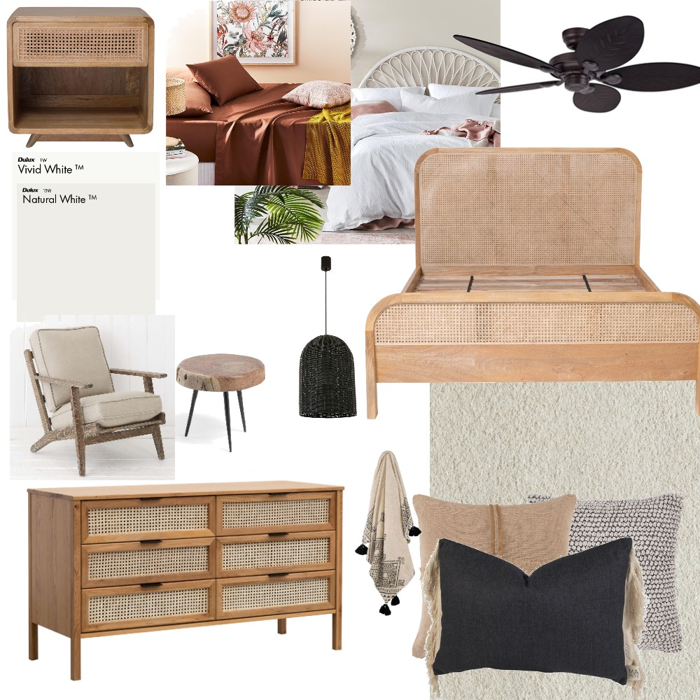 bedroom Interior Design Mood Board by laraclark on Style Sourcebook