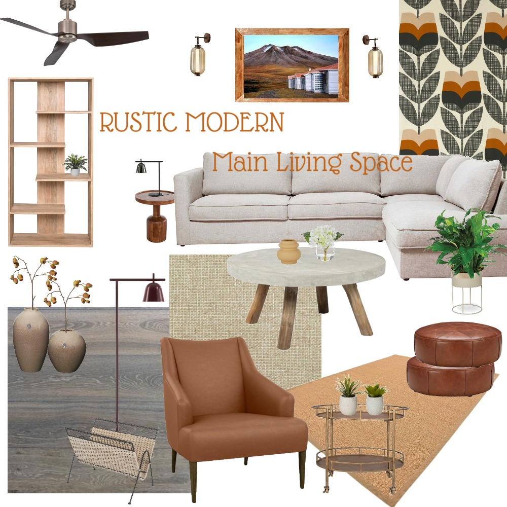 Relaxed Rustic Interior Design Mood Board by G3ishadesign on Style Sourcebook
