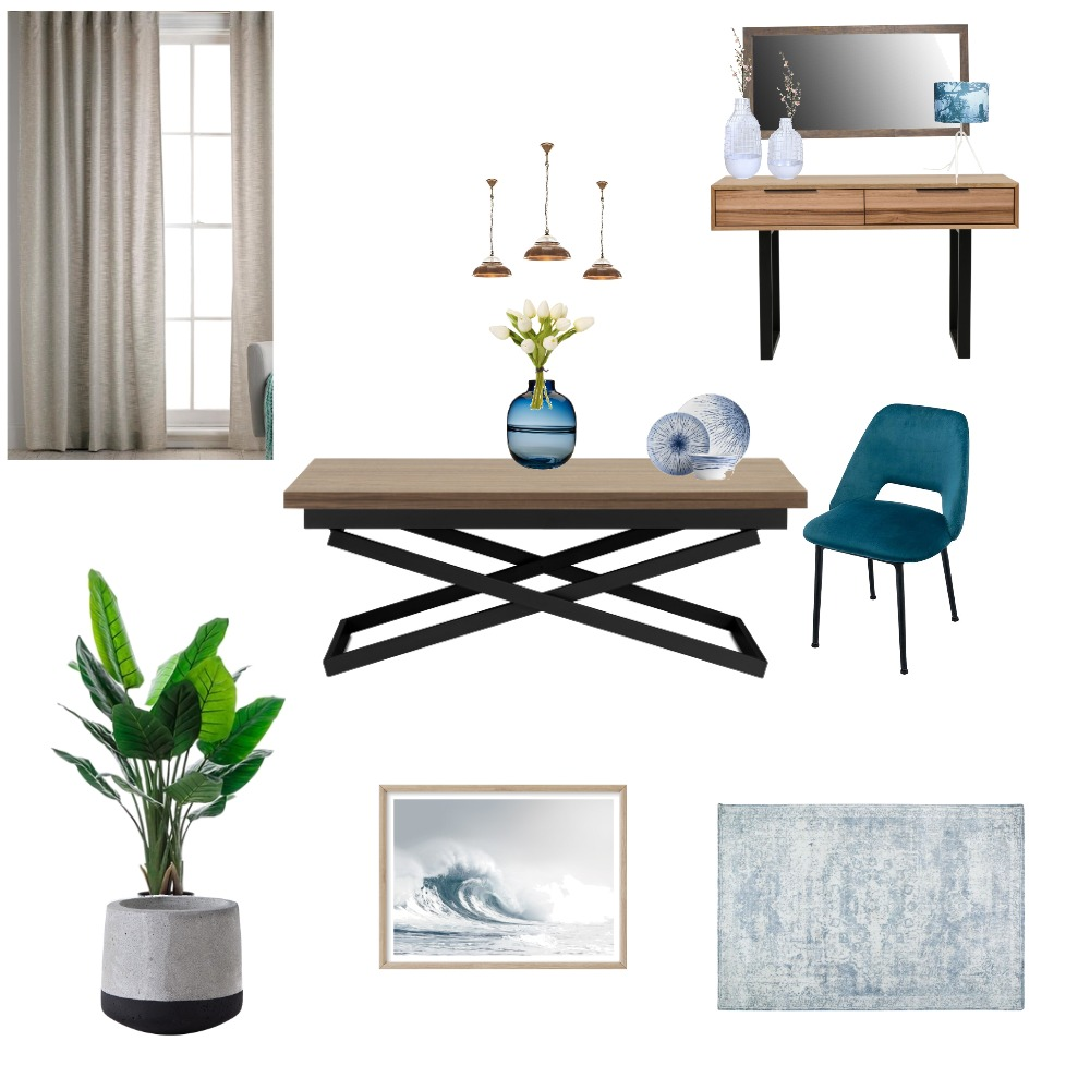 modern Dining room Interior Design Mood Board by emanazz on Style Sourcebook