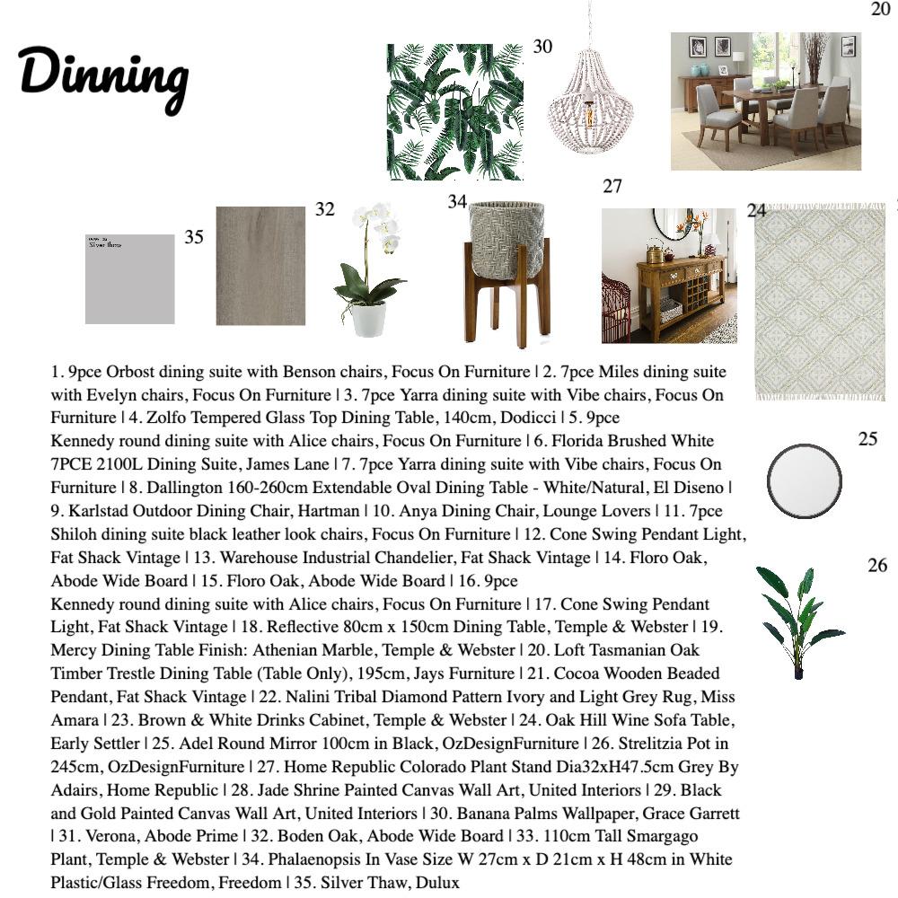 Dinning Mood Board Interior Design Mood Board by Cristinella on Style Sourcebook