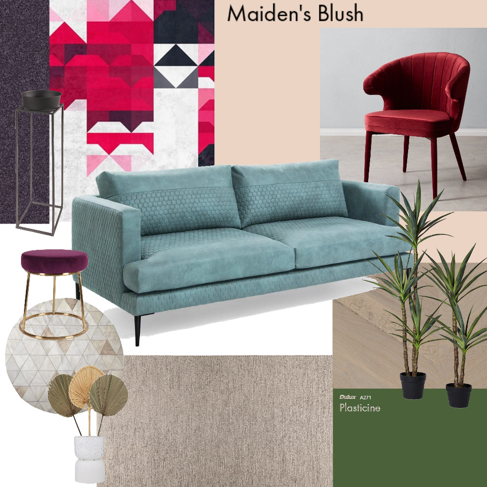 Porto and flower color key Interior Design Mood Board by madalinap on Style Sourcebook