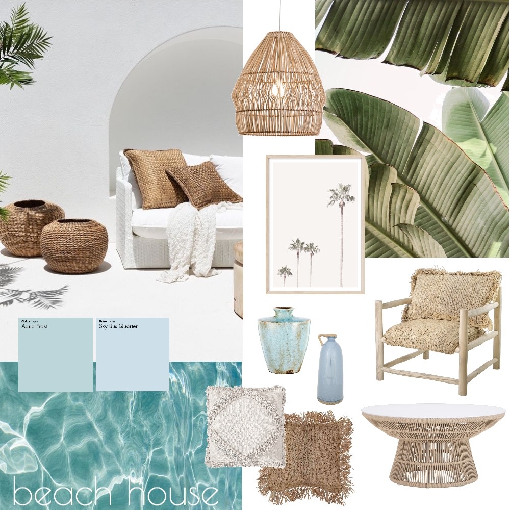 Beach House Mood Board by Niki Mayan on Style Sourcebook