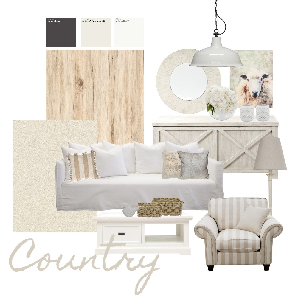 Country Interior Design Mood Board by ideenreich on Style Sourcebook