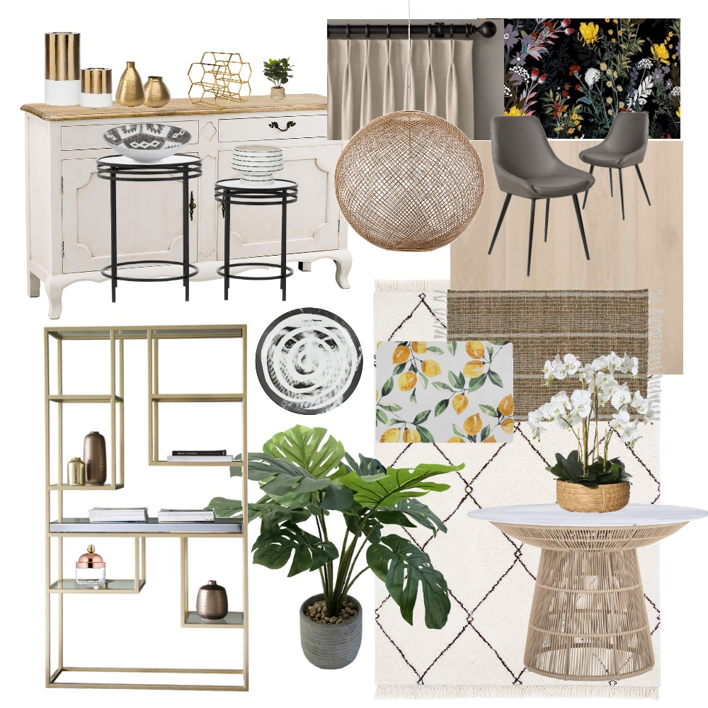 Dining Interior Design Mood Board by stephanie.tiong on Style Sourcebook