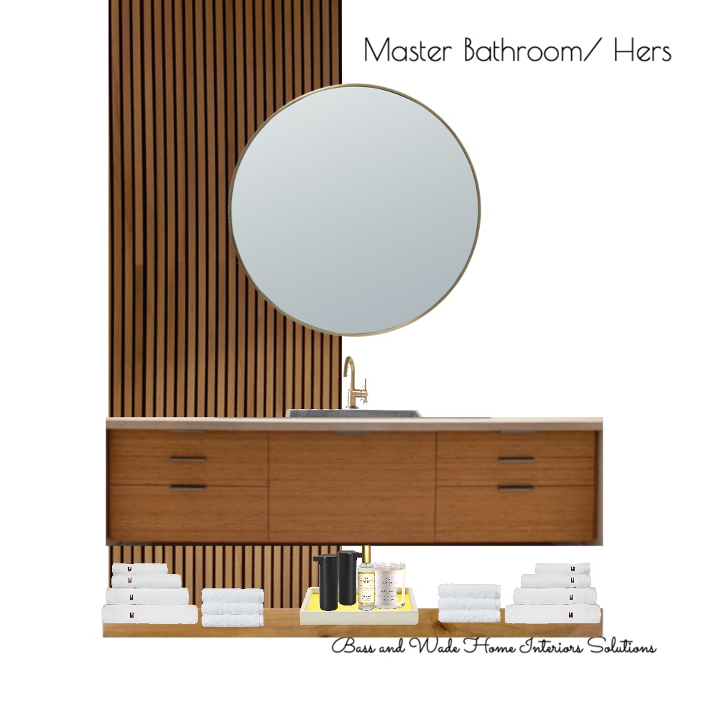 Master Bath Interior Design Mood Board by Bass and Wade Home Interior Solutions on Style Sourcebook