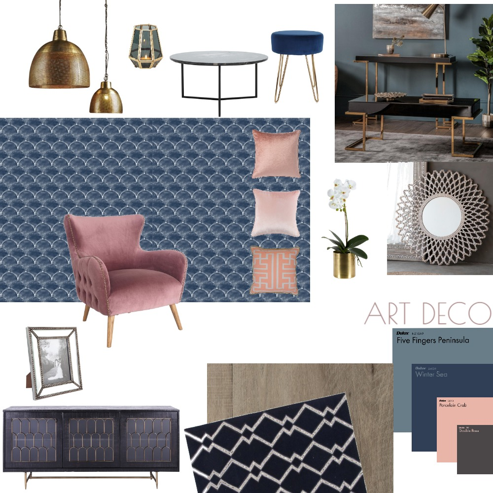 art deco Interior Design Mood Board by CHUANTING_CHEN on Style Sourcebook