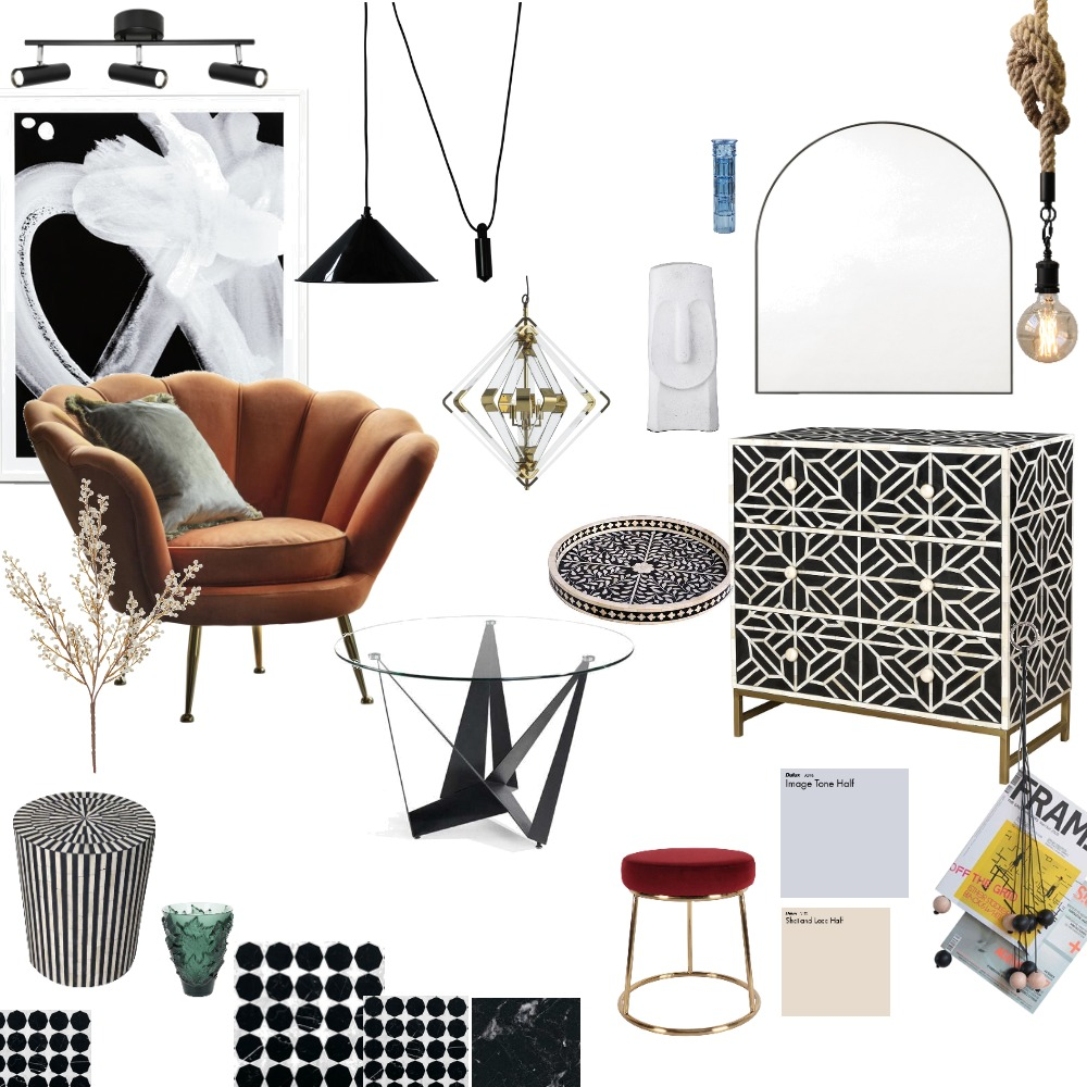Eclectic Interior Design Mood Board by kli251 on Style Sourcebook